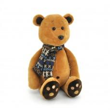 Медвежонок Медок в шарфике, в коробке, высота 20 см, Orange Toys