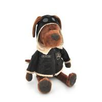 Пёс Барбоська Авиатор в коробке, высота 25 см, Orange Toys