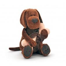 Пёс Барбоська с косточкой в коробке, высота 45 см, Orange Toys